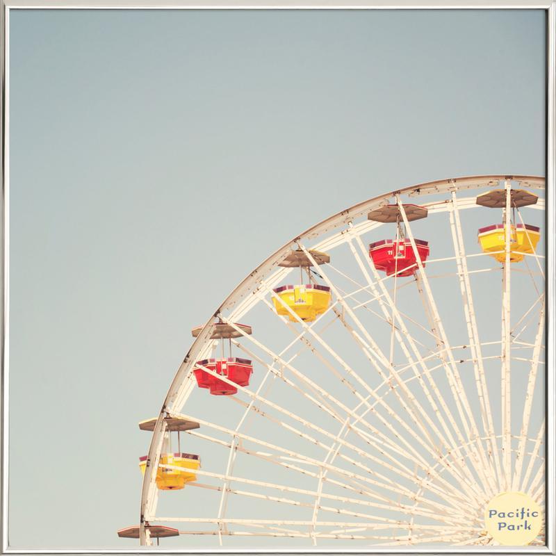 Ferriswheel as Poster in Aluminium Frame | JUNIQE