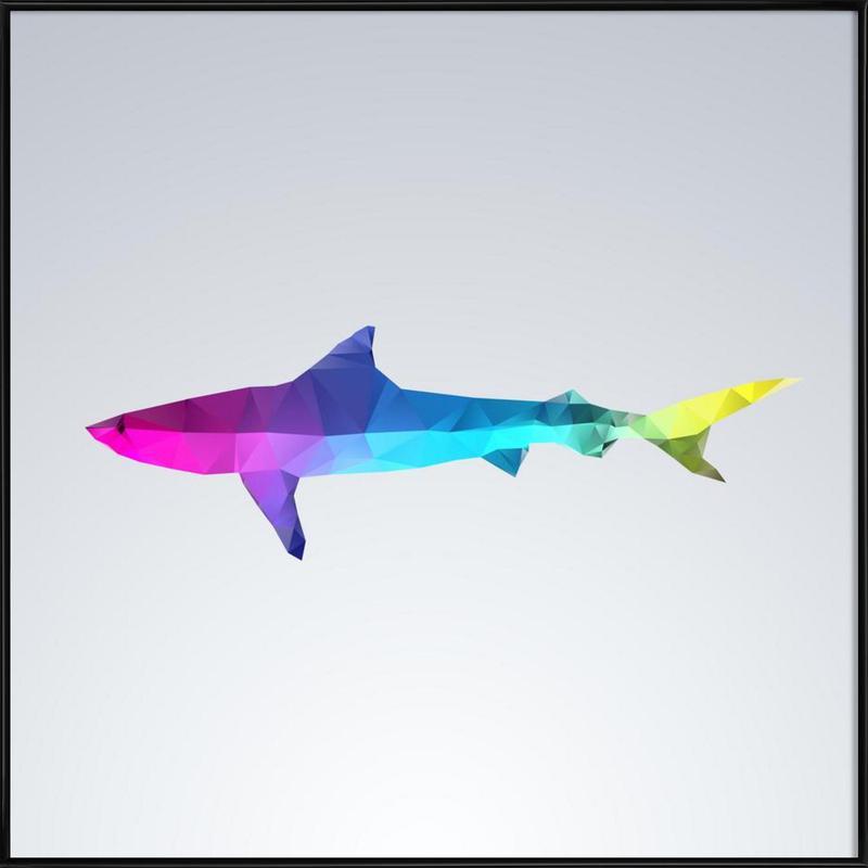 Glass Animals - Shark as Poster in Standard Frame | JUNIQE