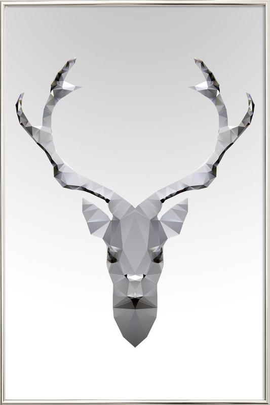 Geo White Deer