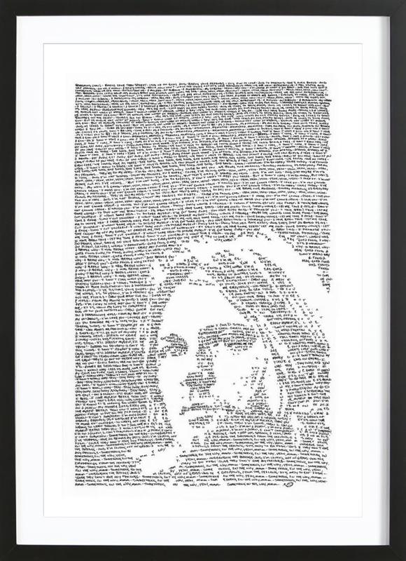 Nirvana as Poster in Wooden Frame by Mike Matola | JUNIQE