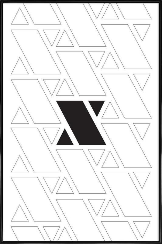 xx as Poster in Standard Frame by Oh Darling | JUNIQE