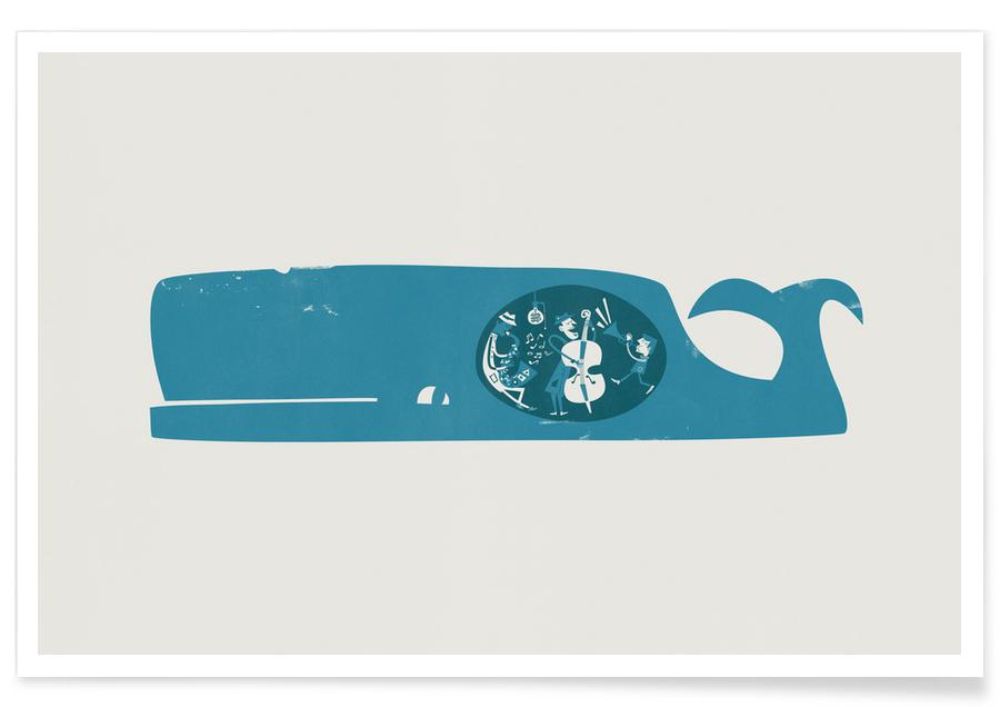 5dbb68d24a5c31 A Whale of a Time as Poster by Fox   Velvet