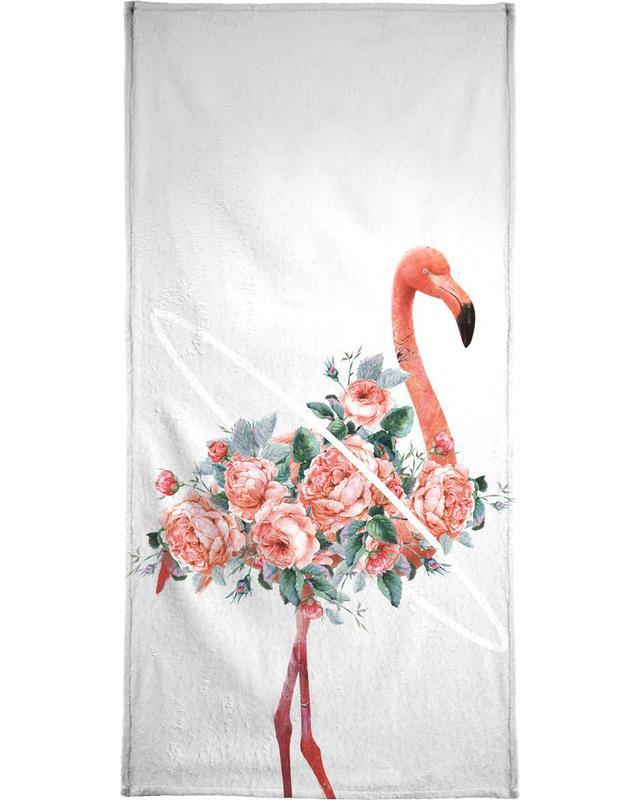 Flamingo Hand Amp Bath Towel Juniqe Uk