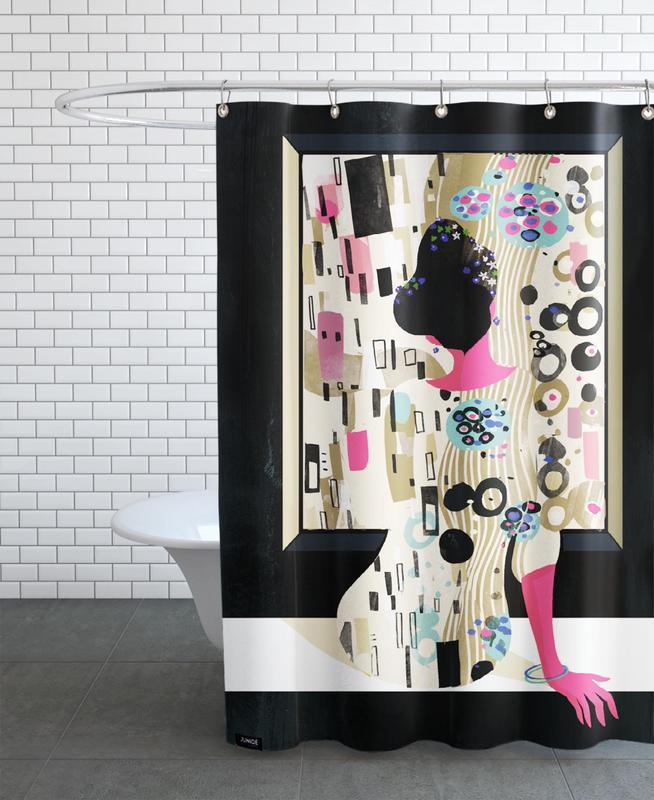 Klimt As Shower Curtain By Pietari Posti JUNIQE