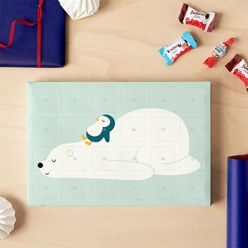 Calendrier Avent Kinder 2020.Time To Chill 2019 Chocolate Advent Calendar Kinder