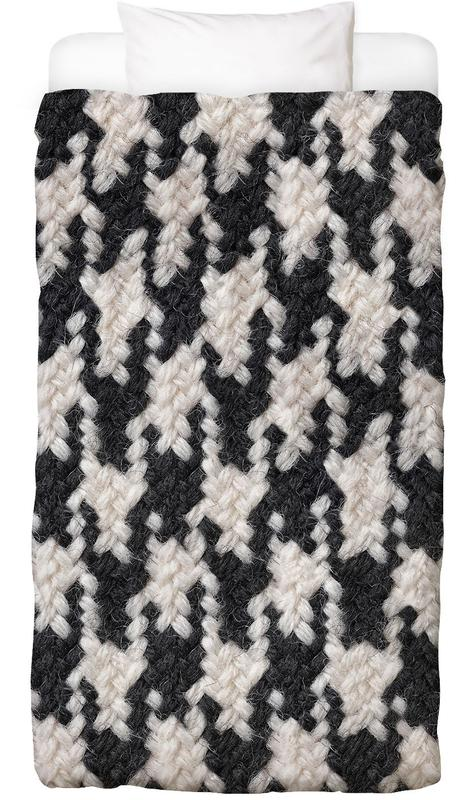 Houndstooth Pattern As Kids Bed Linen Juniqe