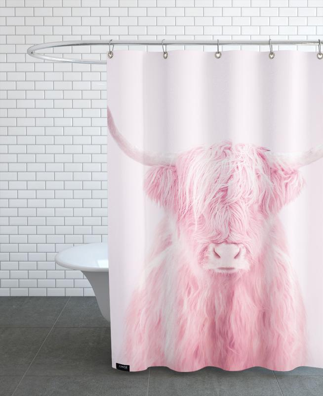 Highland Cow As Shower Curtain By Paul Fuentes
