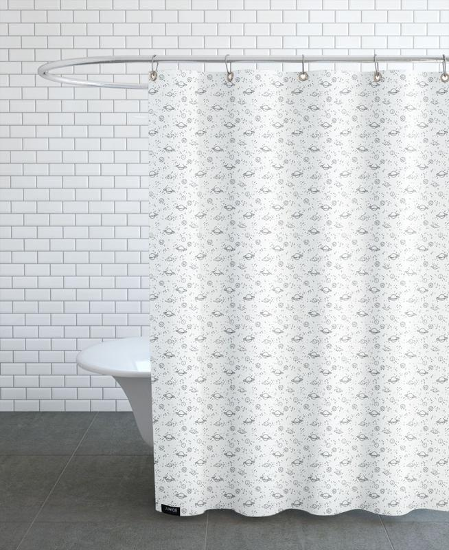 Universe As Shower Curtain By Kind Of Style