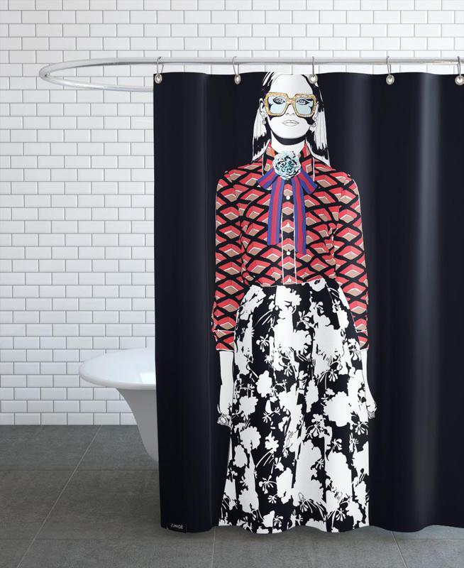 Just Fashion 2 en Rideau de douche par Marcell Naubert | JUNIQE