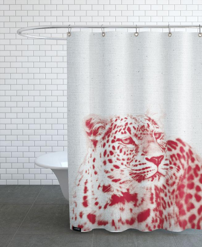 Leopard As Shower Curtain By Froilein Juno