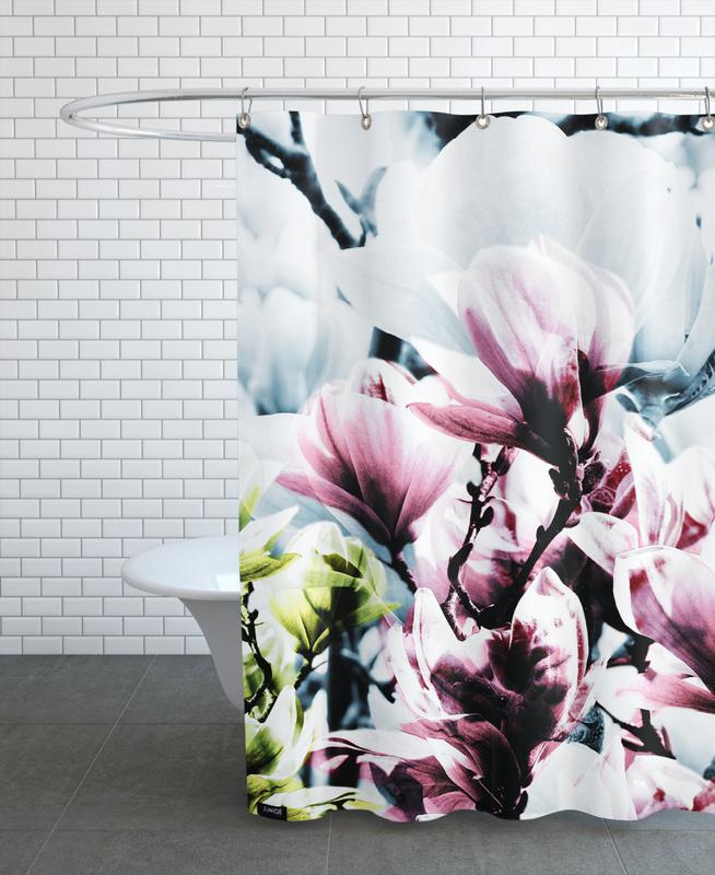 Magnolia 01 As Shower Curtain By Froilein Juno Juniqe
