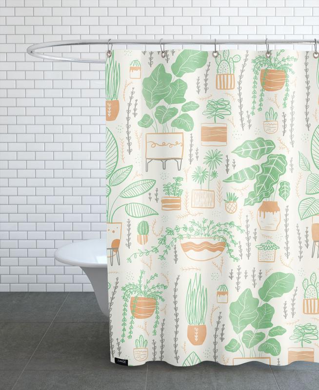 Plants Als Duschvorhang Von Moira Scicluna Zahra