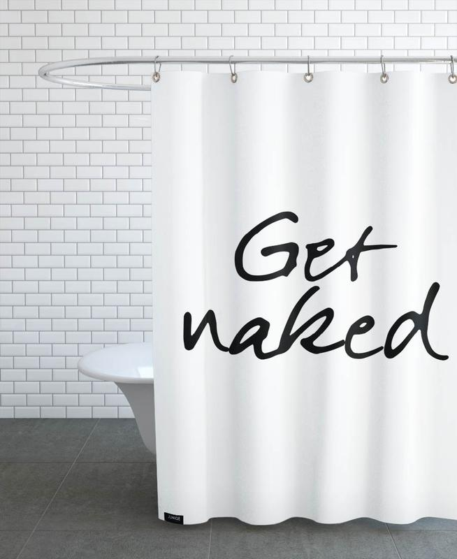 Get Naked as Shower Curtain by JUNIQE | JUNIQE