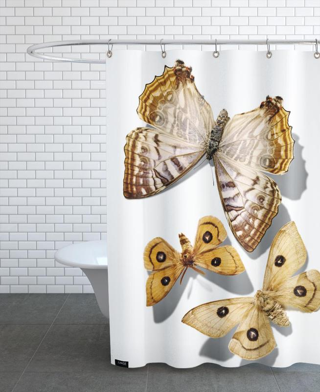 butterflies 5 als duschvorhang von g nther egger juniqe. Black Bedroom Furniture Sets. Home Design Ideas