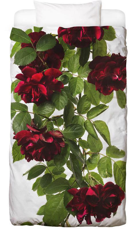 flora rose als bettw sche von tan kadam juniqe. Black Bedroom Furniture Sets. Home Design Ideas