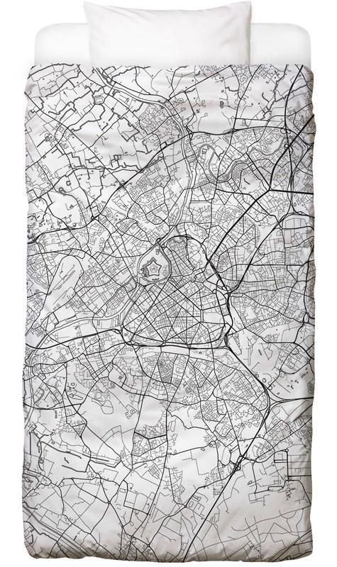Lille minimal als bettw sche von hubert roguski juniqe for Minimal art kunstwerke