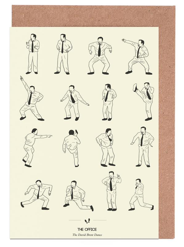 The office david brent as greeting card set by niege borges the office david brent as greeting card set by niege borges juniqe uk m4hsunfo