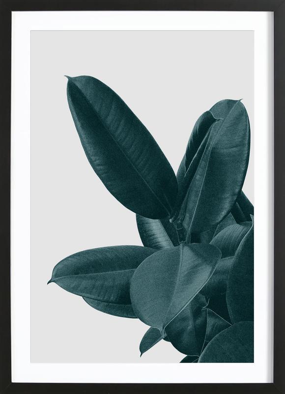 middle of nowhere als poster im holzrahmen juniqe. Black Bedroom Furniture Sets. Home Design Ideas