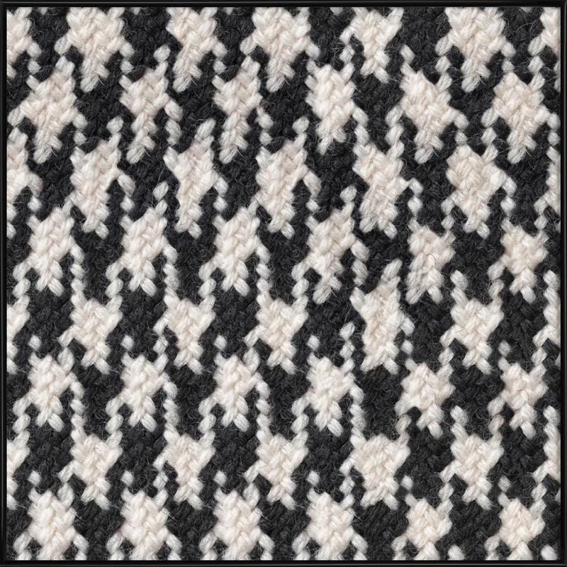 Houndstooth Pattern as Poster in Standard Frame | JUNIQE