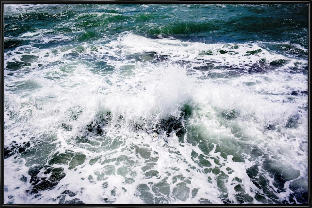 White Splash as Poster in Standard Frame by Tal Paz-Fridman | JUNIQE UK