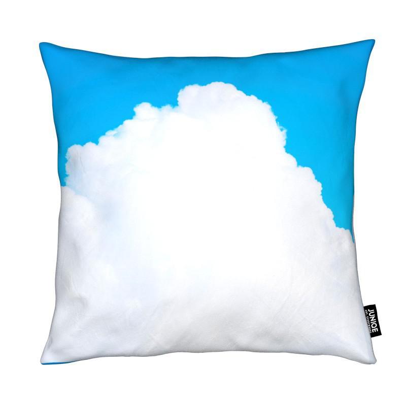 blue clouds iii als kissen von tal paz fridman juniqe. Black Bedroom Furniture Sets. Home Design Ideas