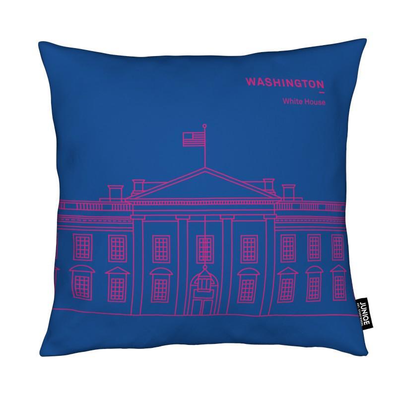 washington als kissen von sara signorini juniqe ch. Black Bedroom Furniture Sets. Home Design Ideas