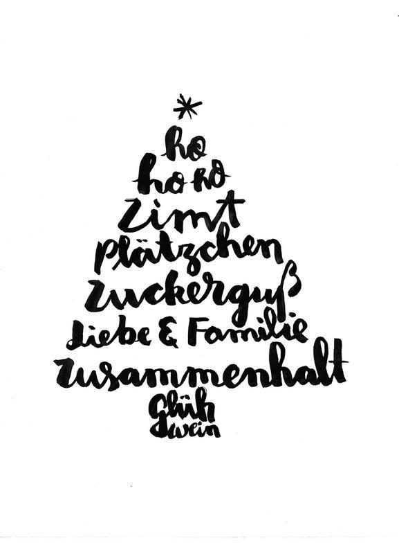 tannenbaum als leinwandbild von brushmeetspaper juniqe. Black Bedroom Furniture Sets. Home Design Ideas