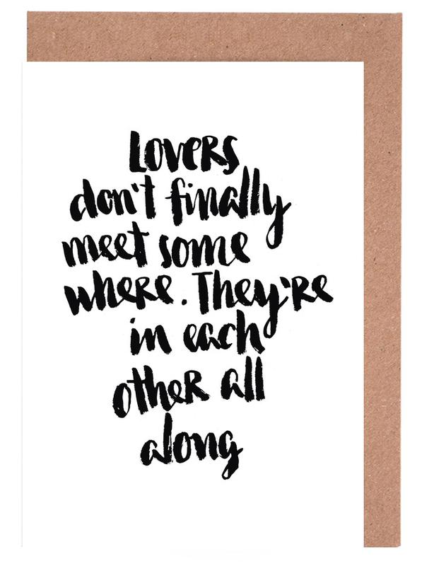 Lovers as greeting card set by brushmeetspaper juniqe m4hsunfo