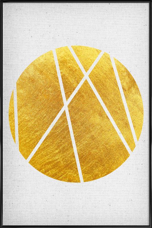 Circle03 als Poster im Kunststoffrahmen von Froilein Juno | JUNIQE
