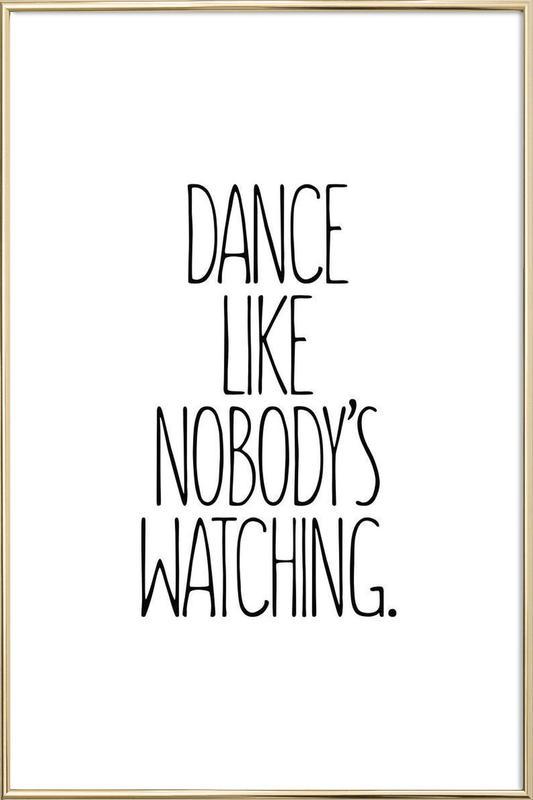 Dance as Poster in Aluminium Frame by JUNIQE | JUNIQE