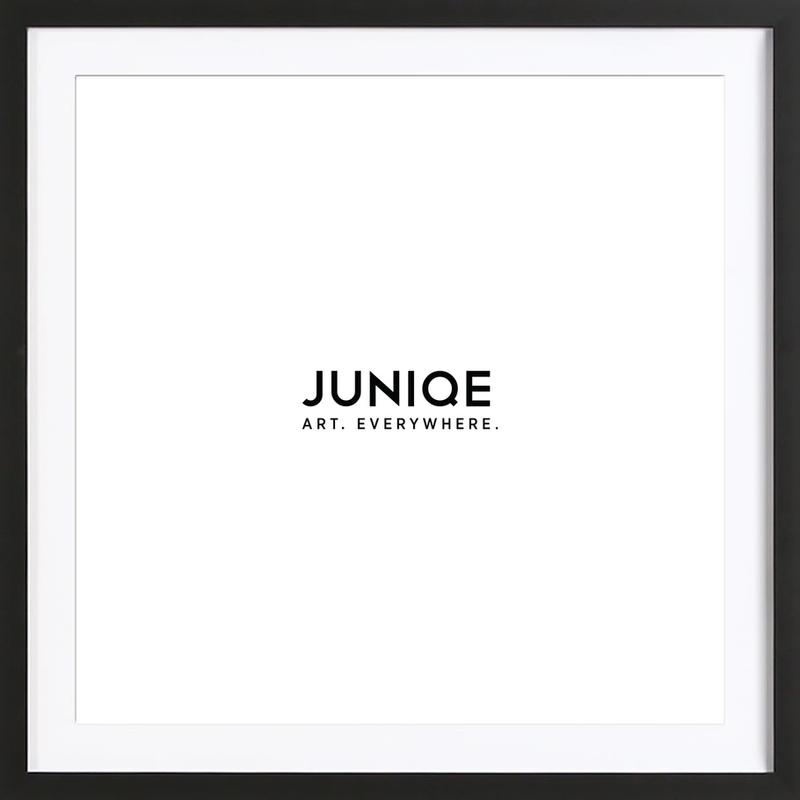 Frame Square As Wooden Frame By Juniqe Juniqe Uk