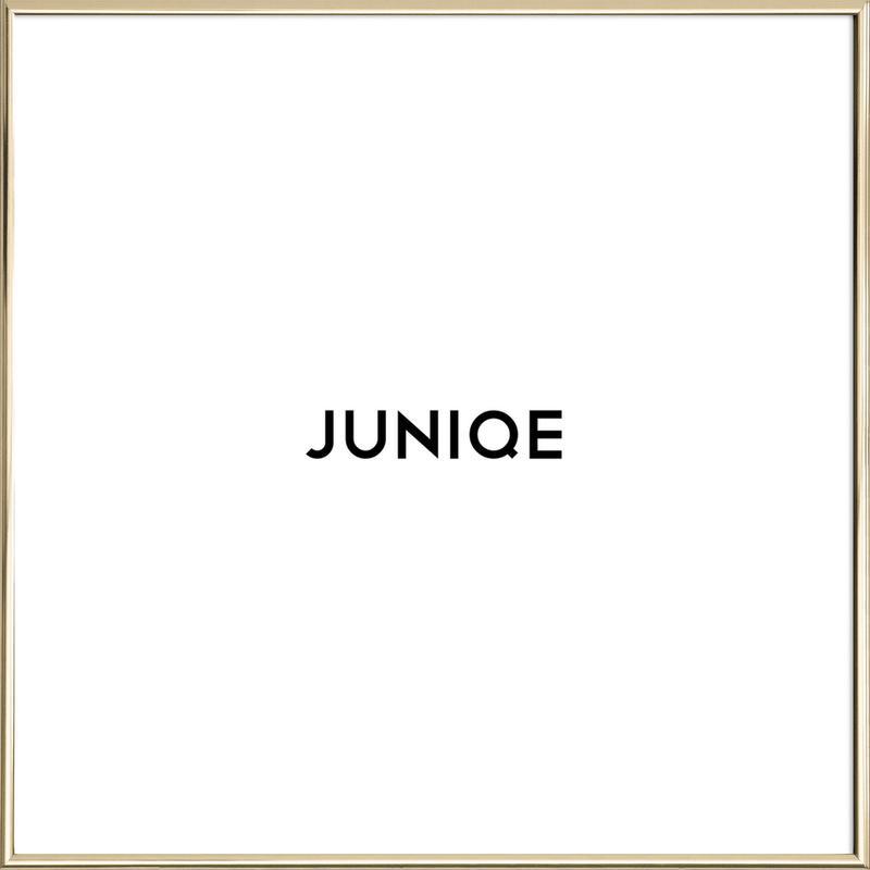 Rahmen - Quadrat als Alurahmen von JUNIQE | JUNIQE