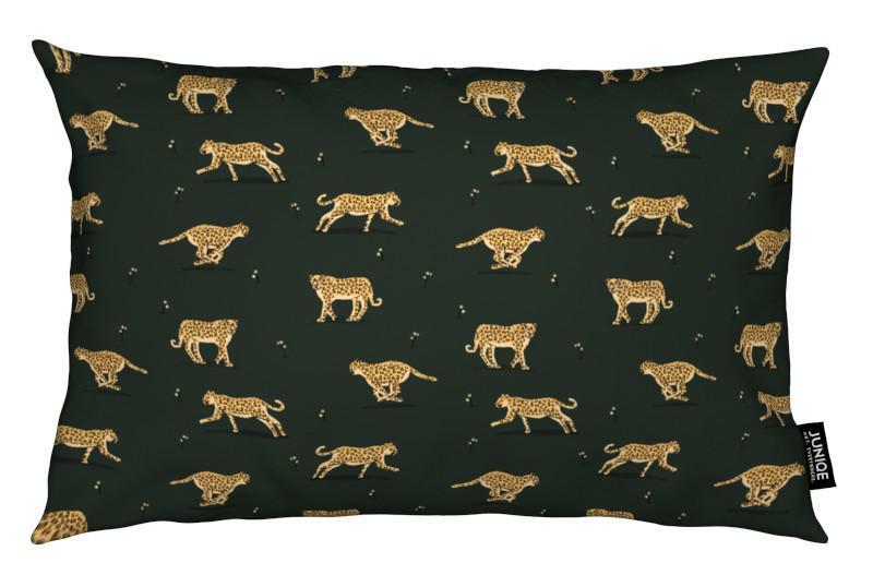 Leopard pattern als kussen door alex foster juniqe