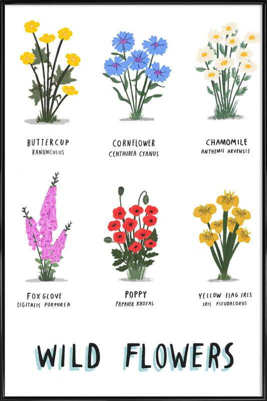Wild Flowers as Poster in Standard Frame by Alex Foster | JUNIQE