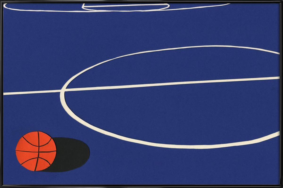 Oakland Basketball Team II as Poster in Standard Frame | JUNIQE