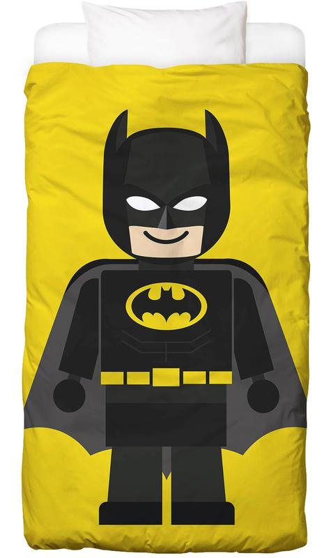 Batman Toy As Bed Linen By Rafa Gomes Juniqe