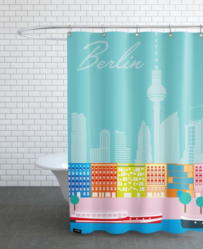 Berlin In Sicht Als Duschvorhang Von Sandra Siewert Juniqe