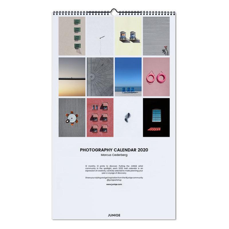 Poster Calendario 2020.Photography Calendar 2020 Marcus Cederberg Wall Calendar