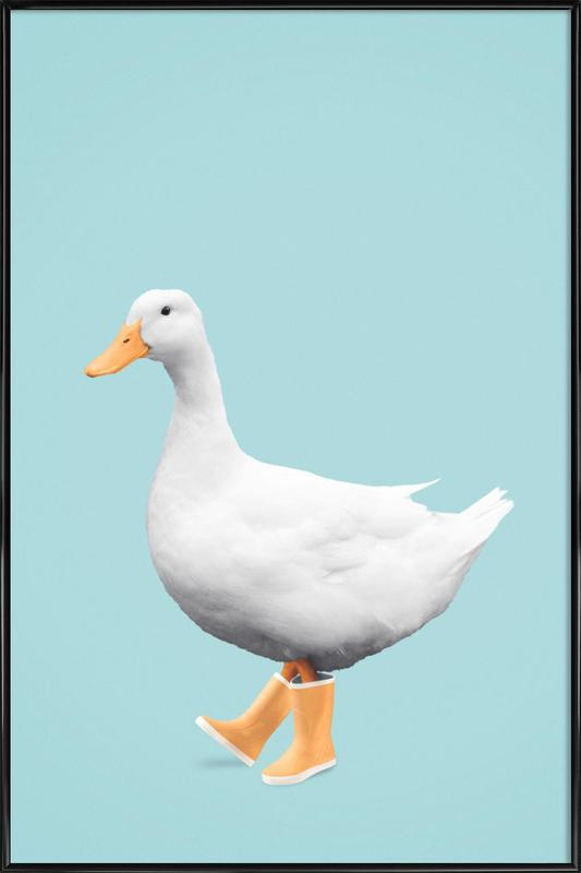 Duck Boots as Poster in Standard Frame by Jonas Loose | JUNIQE