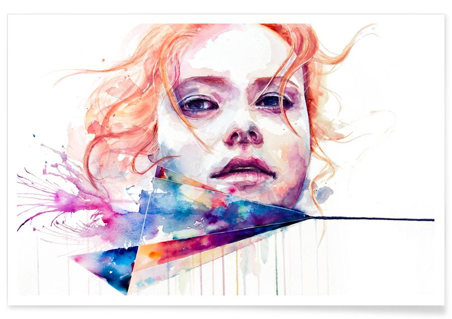 Conspiracy Of Silence As Premium Poster By Agnes Cecile