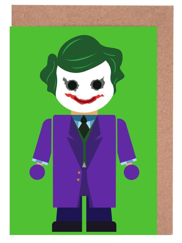 Joker toy as greeting card set by rafa gomes juniqe m4hsunfo Images