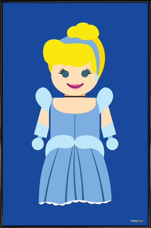 Cinderella Toy as Poster in Standard Frame by Rafa Gomes | JUNIQE