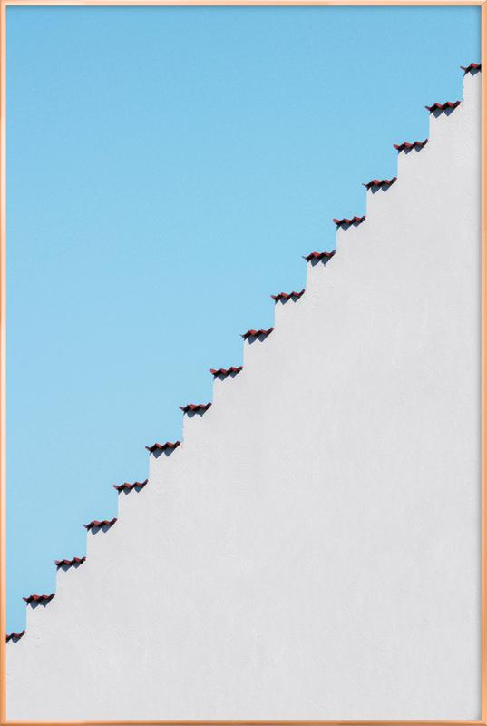 Mexican Roof as Poster in Aluminium Frame by Marcus Cederberg | JUNIQE