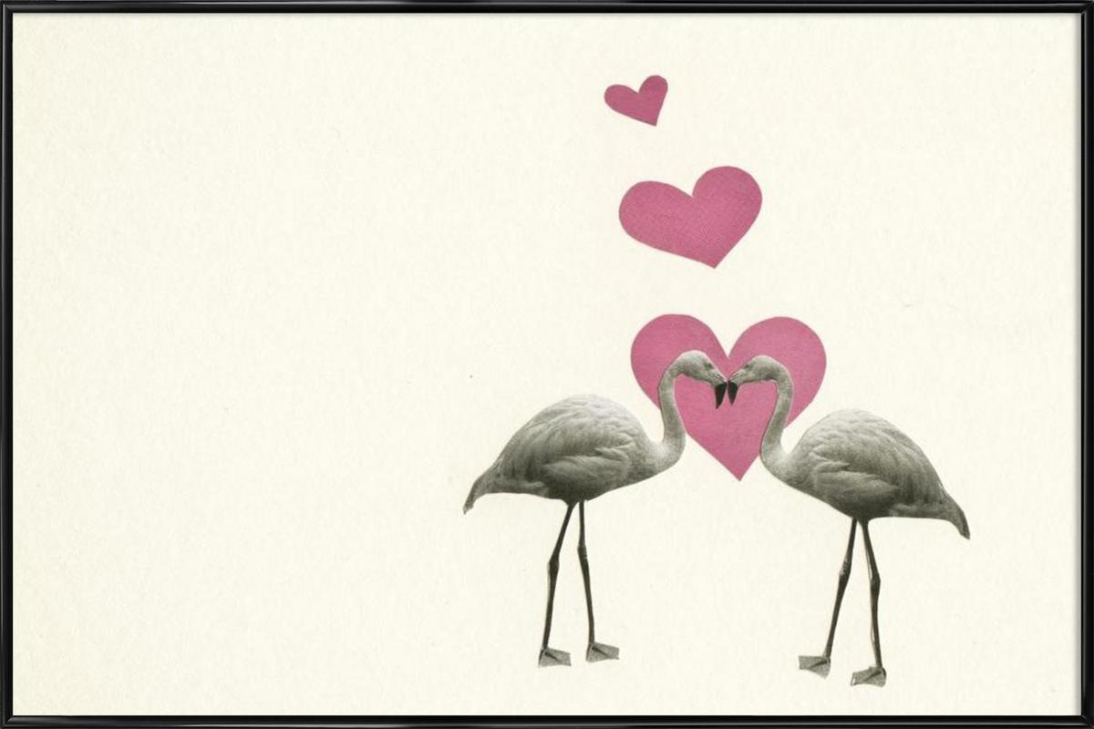 Love Birds as Poster in Standard Frame by Cassia Beck | JUNIQE UK