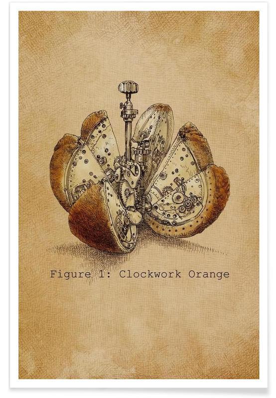 A Clockwork Orange As Premium Poster By Eric Fan Juniqe Uk