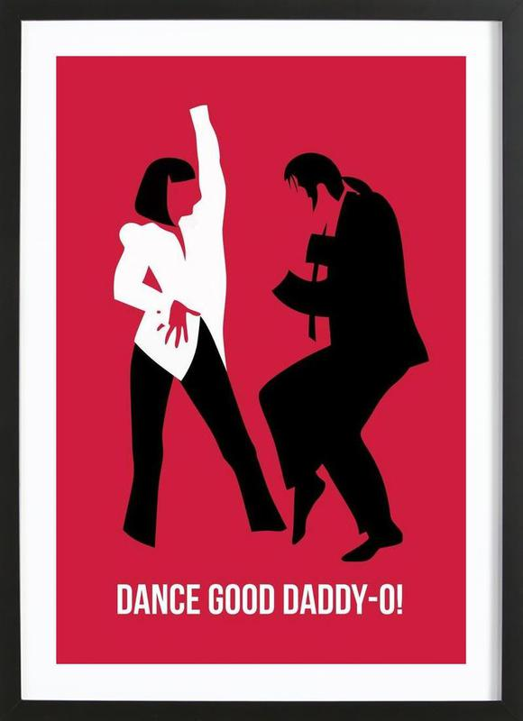 Dance Good Poster 2 as Poster in Wooden Frame by Naxart | JUNIQE