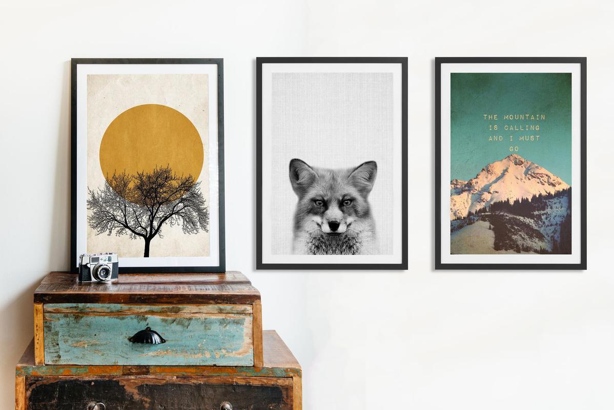 the call of the wild juniqe. Black Bedroom Furniture Sets. Home Design Ideas