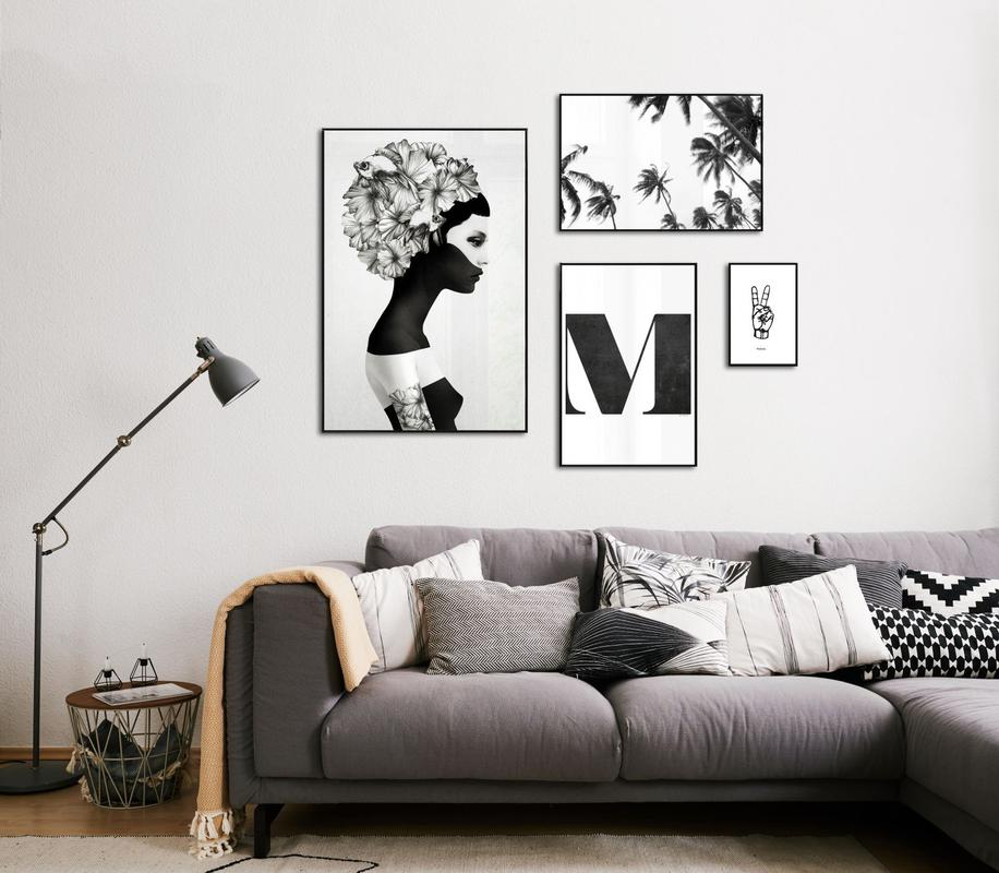 my black is her white juniqe. Black Bedroom Furniture Sets. Home Design Ideas