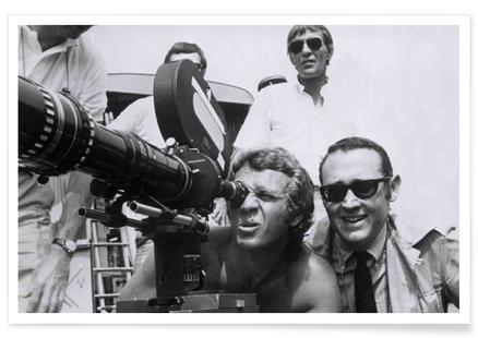 Steve McQueen behind the Camera