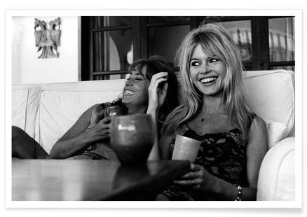 Brigitte Bardot Smiling